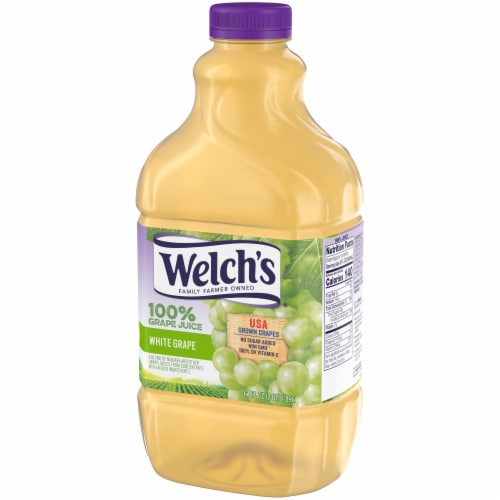 Welch's 100% White Grape Juice Perspective: right
