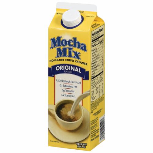 Mocha Mix Original Non-Dairy Liquid Coffee Creamer Perspective: right