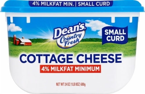 Dean's 4% Milkfat Small Curd Cottage Cheese Perspective: right