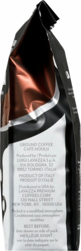 LavAzza Perfetto Dark Roast Ground Coffee Perspective: right