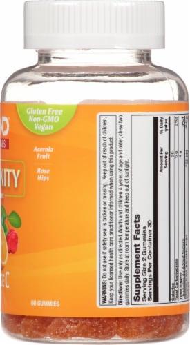 Zand® Orange C Immune Booster Gummies Perspective: right