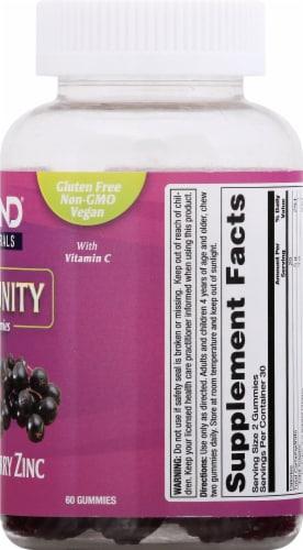 Zand Elderberry Zinc Immune Support Dietary Supplement Gummies Perspective: right
