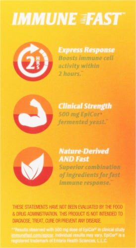 Zand® Naturals Zesty Orange Immune Fast Immune Support Chewable Tablets Perspective: right