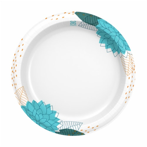 Dixie 8.5-Inch Everyday Printed Paper Plates Perspective: right
