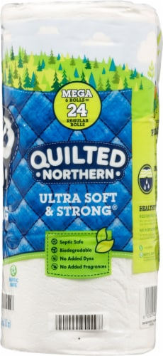 Quilted Northern Ultra Soft and Strong® Mega Roll Toilet Paper Perspective: right