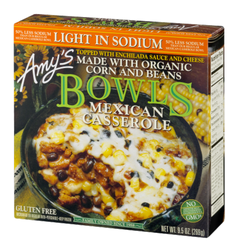 Amy's Organic Mexican Casserole Bowl Perspective: right