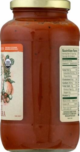 Amy's Organic Light in Sodium Family Marinara Pasta Sauce Perspective: right