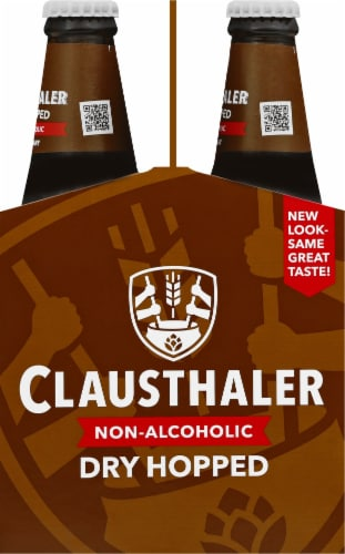 Clausthaler Golden Amber Non Alcoholic Perspective: right