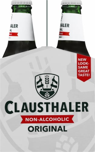 Clausthaler Premium Non-Alcoholic Beer Perspective: right