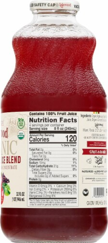 Lakewood Organic Cranberry Blend Juice Perspective: right