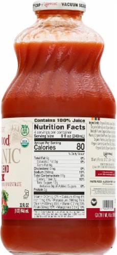 Lakewood Organic Super Veggie Juice Perspective: right