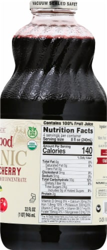 Lakewood Organic Pure Tart Cherry Juice Perspective: right