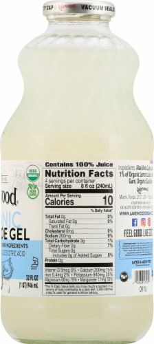 Lakewood Organic Pure Aloe Gel Perspective: right