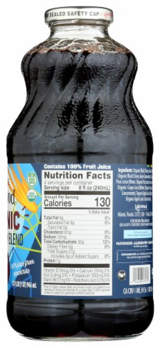 Lakewood Organic Pure Black Cherry Juice Perspective: right