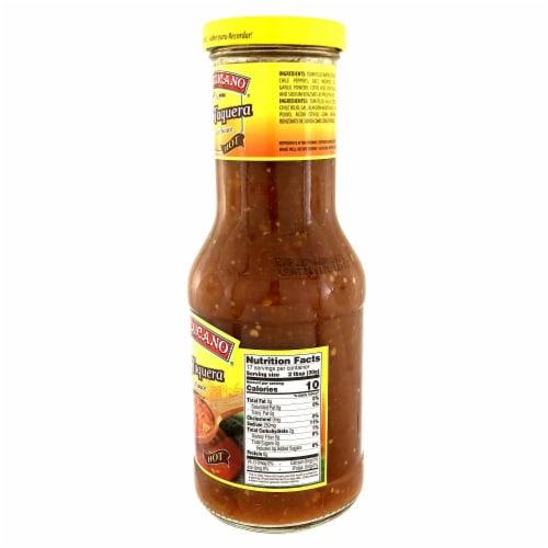 El Mexicano Hot Salsa Taquera Perspective: right