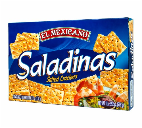 El Mexicano Saladitas Salted Crackers Perspective: right