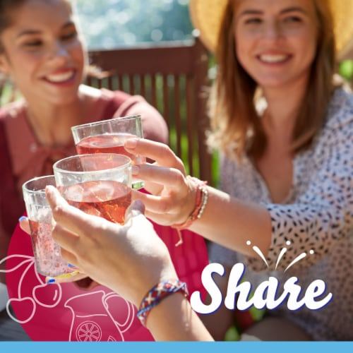 Crystal Light Fruit Punch Powdered Drink Mix Perspective: right