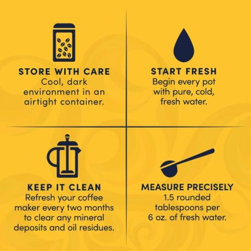 Gevalia Decaf House Blend Medium Roast Ground Coffee Perspective: right
