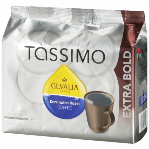 Tassimo Gevalia Dark Italian Roast Coffee T Discs Perspective: right