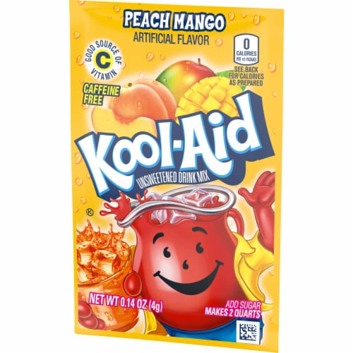 Kool-Aid Peach Mango Drink Mix Perspective: right