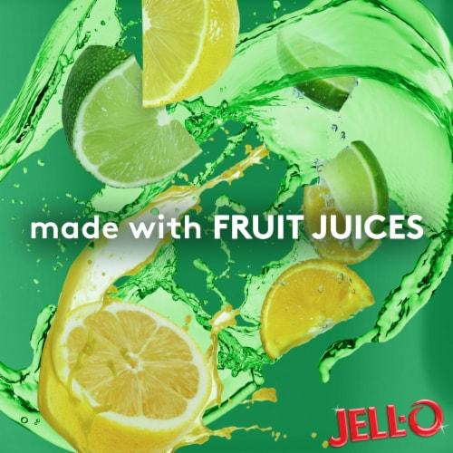 Jell-O® Sugar Free Lemon-Lime Gelatin Snacks Perspective: right
