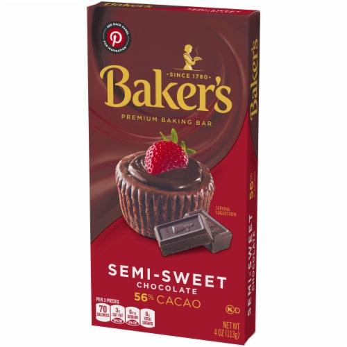 Baker's Premium Semi-Sweet Chocolate Baking Bar Perspective: right