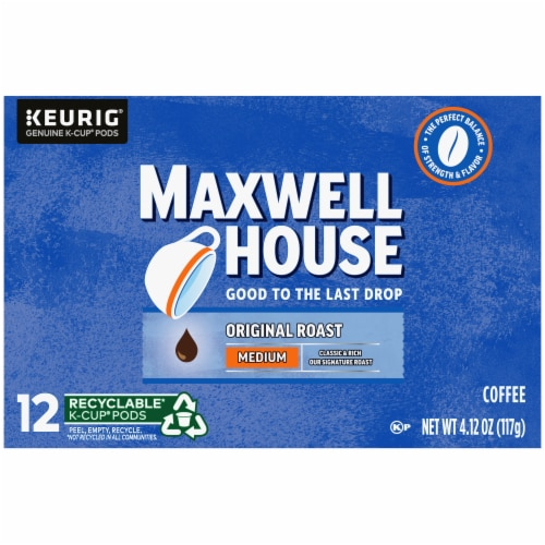 Maxwell House Original Medium Roast Coffee K-Cup Pods Perspective: right