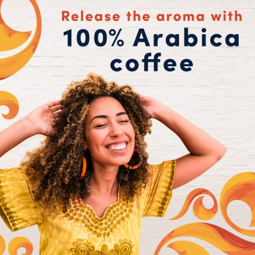 Gevalia Pumpkin Spice Latte Espresso Coffee K-Cup Pods & Froth Packets Perspective: right