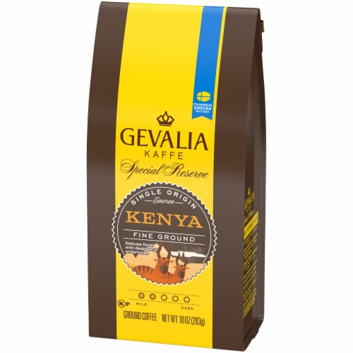 Gevalia Special Reserve Kenya Fine Ground Coffee Perspective: right