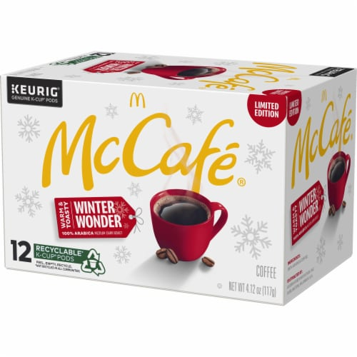 McCafe Winter Wonder Medium Dark Coffee K-Cup Pods Perspective: right