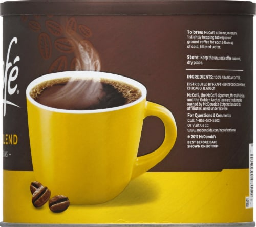 McCafé Light Roast Breakfast Blend Ground Coffee Perspective: right