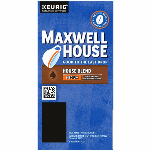 Maxwell House Medium Roast House Blend Coffee K-Cup Pods Perspective: right