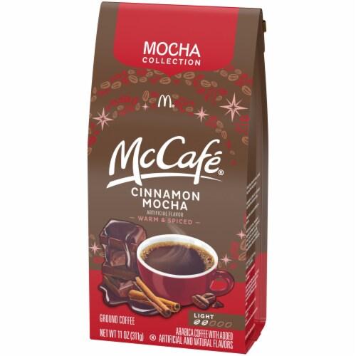 McCafe Cinnamon Mocha Light Roast Ground Coffee Perspective: right