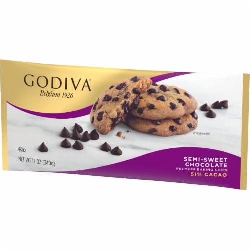 Godiva Semi-Sweet Premium Baking Chips Perspective: right
