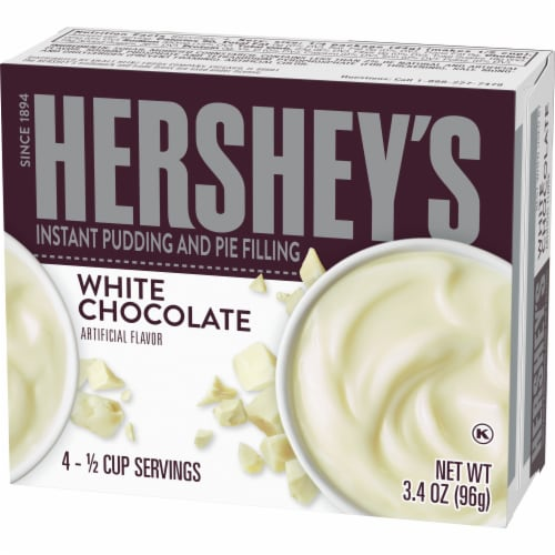 Hershey's White Chocolate Instant Pudding and Pie Filling Perspective: right