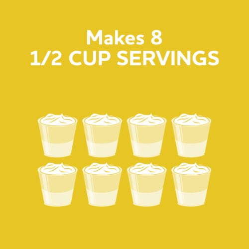 Jell-O Lemon Gelatin Dessert Mix Perspective: right