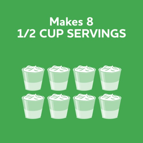 Jell-O Lime Gelatin Dessert Mix Perspective: right