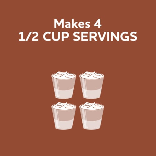 Jell-O Chocolate Fudge Instant Pudding & Pie Filling Mix Perspective: right
