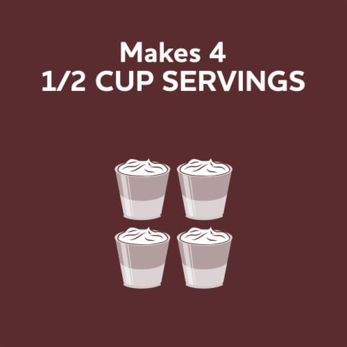 Jell-O Cook & Serve Chocolate Pudding & Pie Filling Perspective: right