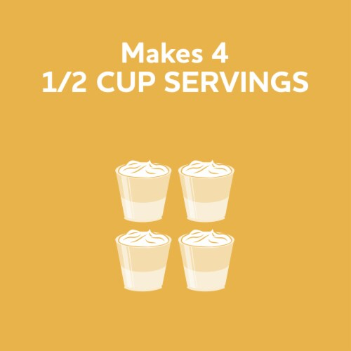 Jell-O Cook & Serve Vanilla Pudding & Pie Filling Perspective: right