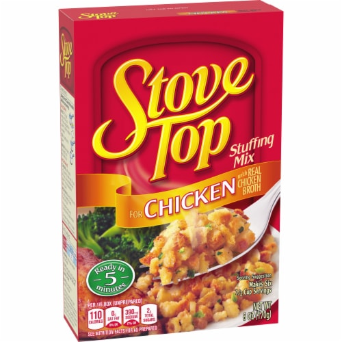 Stove Top Chicken Stuffing Mix Perspective: right