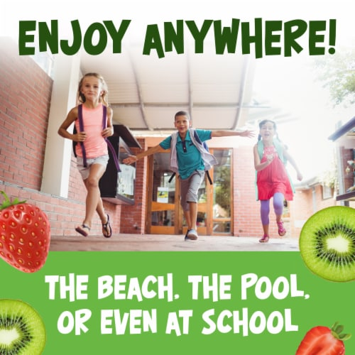 Kool-Aid Unsweetened Strawberry Kiwi Powdered Drink Mix Perspective: right