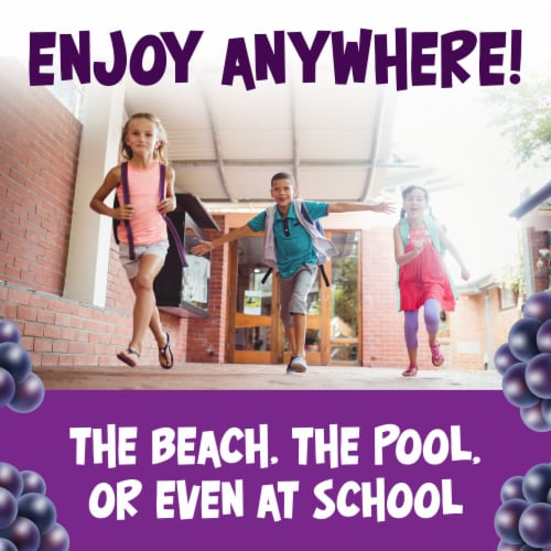 Kool-Aid Grape Powdered Unsweetened Drink Mix Perspective: right