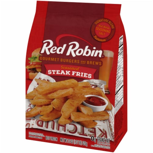Red Robin Seasoned Steak Fries Perspective: right