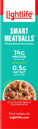 Lightlife Smart Menu Meatless Veggie Meatballs Perspective: right