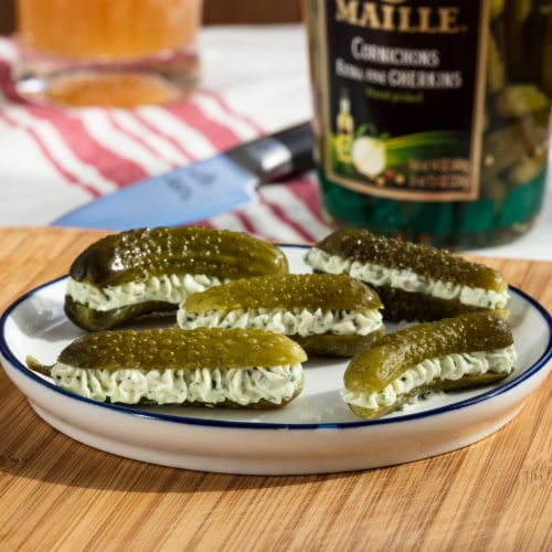 Maille Cornichons Extra Fine Gherkins Perspective: right