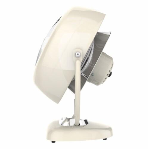 Vornado VFAN Sr. Vintage Air Circulator Fan - Vintage White Perspective: right
