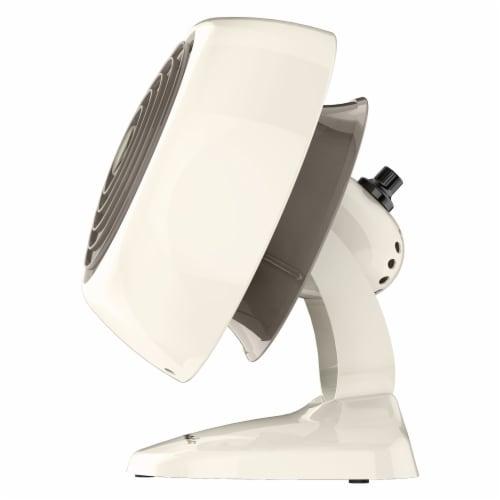 Vornado VFAN Mini Classic Vintage Air Circulator Fan - Vintage White Perspective: right