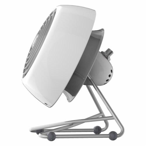 Vornado VFAN Mini Modern Vintage Air Circulator Fan - Ice White Perspective: right