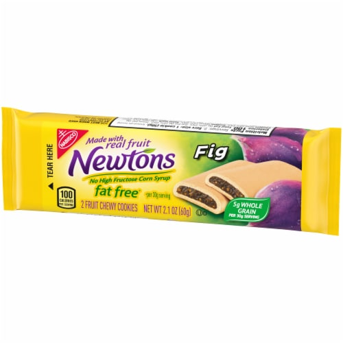 Newtons Fat Free Chewy Fig Cookies Perspective: right